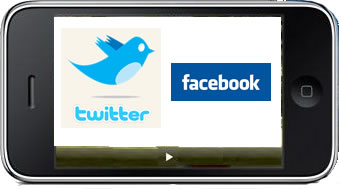twitter and facebook sms spoof