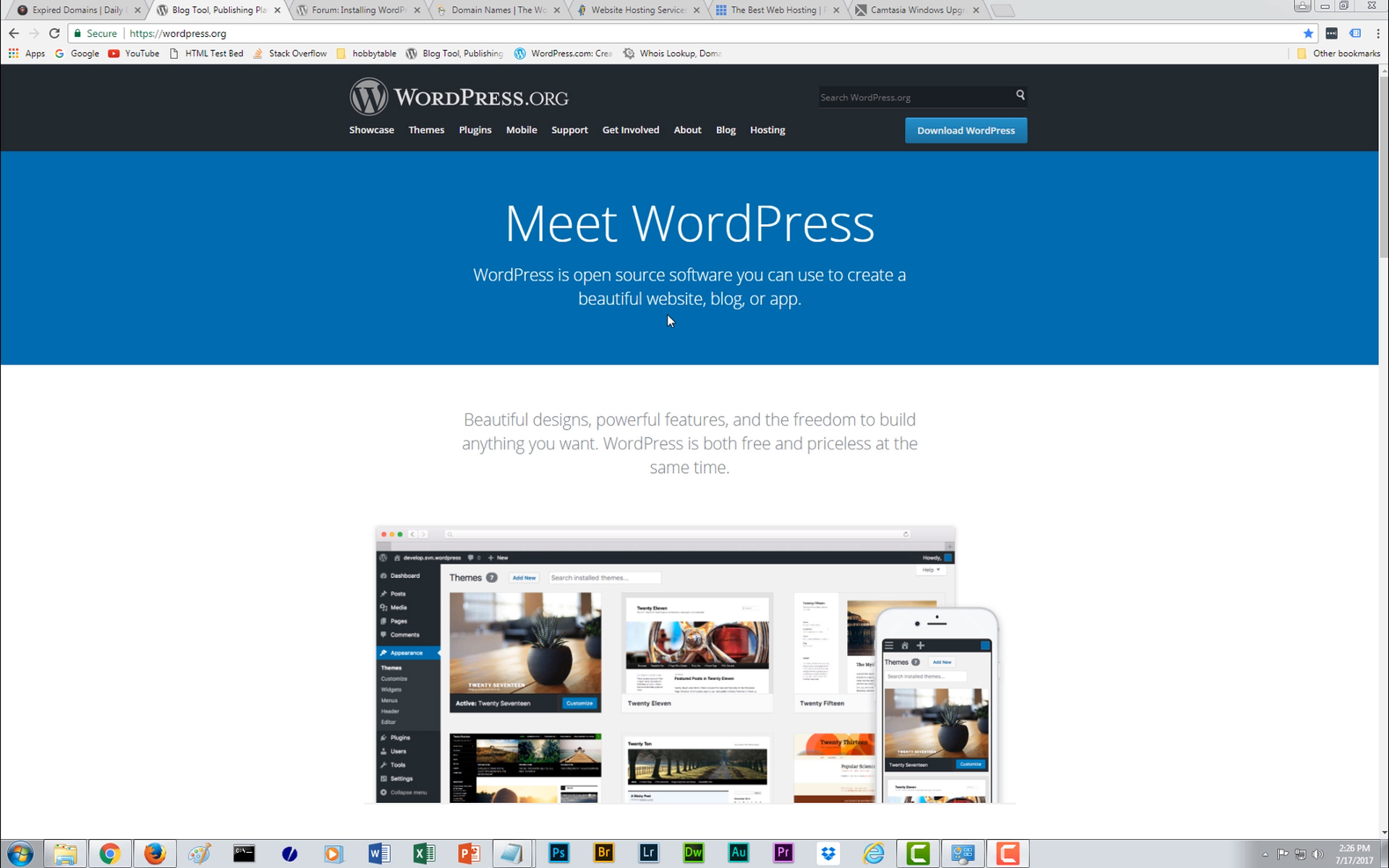 I want to build a website with wordpress where do i start for I want to build a house where do i start