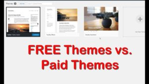 Free Themes vs Paid Themes WordPress